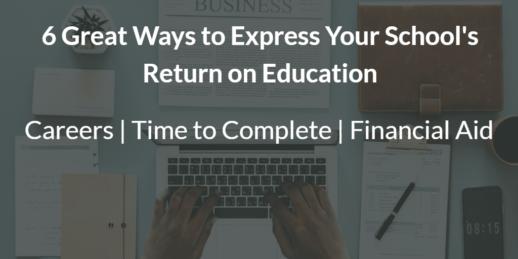 6 Great Ways to Express Your Return on Education