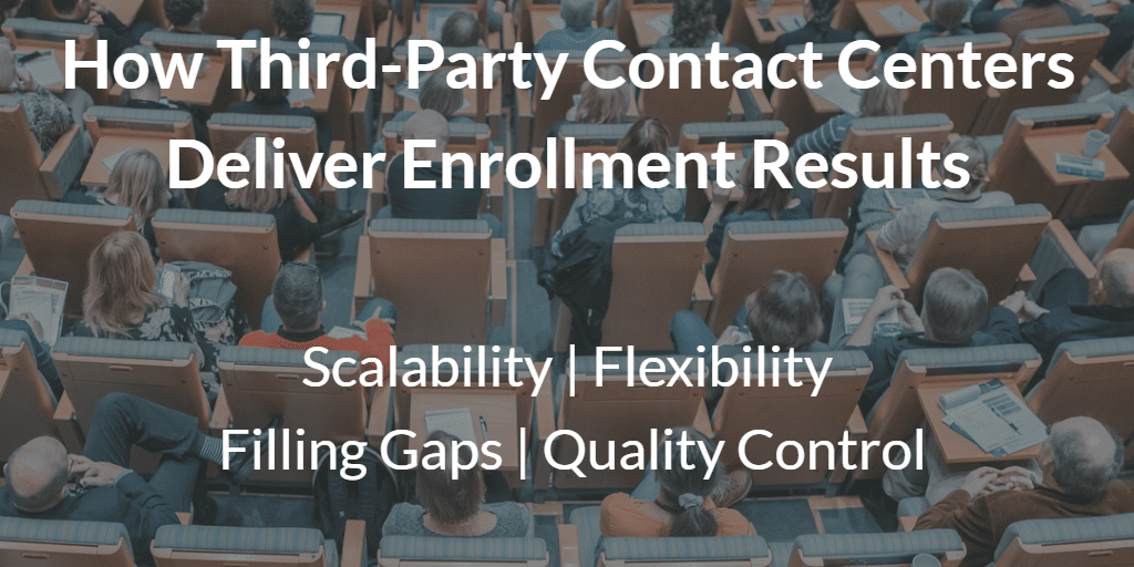 How Third-Party Contact Centers Deliver Enrollment Results