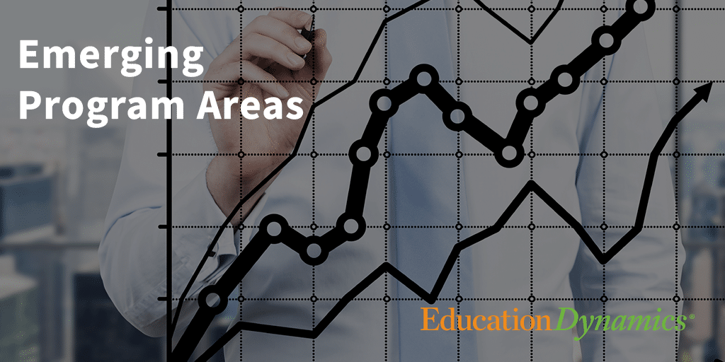 Emerging Program Areas in Higher Education