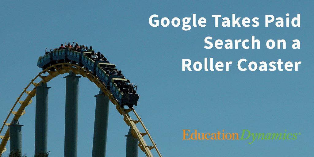 Google Takes Us on a Paid Search Roller Coaster with Recent Core Update